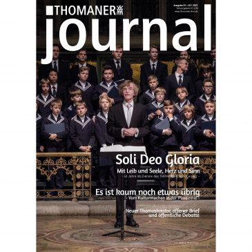 THOMANER journal </br> Ausgabe: 1+2   2021
