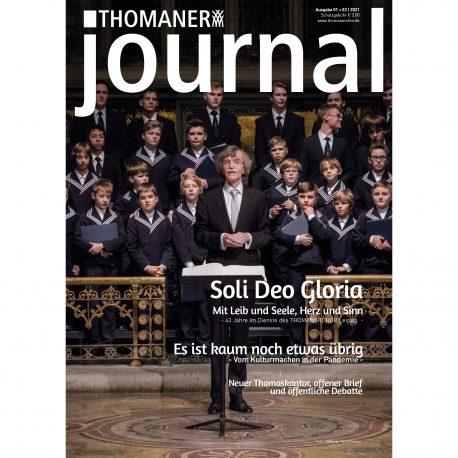 Thomaskantor Gotthold Schwarz mit dem Thomanerchor in Kieler Bluse nach einer Motette.