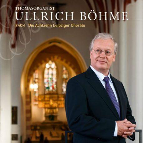 Ullrich Böhme Johann Sebastian Bach an der Bach-Orgel der Leipziger Thomaskirche.