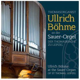 Ullrich Böhme an der Sauer-Orgel der Thomaskirche zu Leipzig